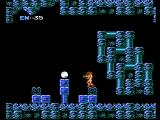 Metroid NES Located a power up