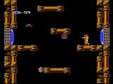 Metroid NES Some screens scroll horizontally, others vertically