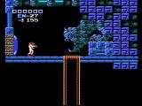 Metroid NES An elevator to a new area