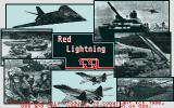 Red Lightning Atari ST Title screen
