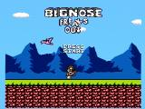 Big Nose Freaks Out NES Title screen