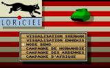 Sherman M4 Atari ST Start menu