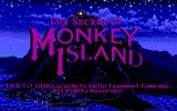 The Secret of Monkey Island DOS Title Screen (EGA version)