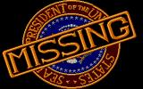 The President is Missing Atari ST Title screen
