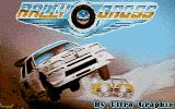 Rally Cross Challenge Atari ST Title screen