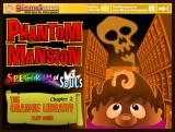 Phantom Mansion: Spectrum of Souls - Chapter 2: The Orange Library Browser Title screen
