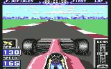 Formula 1 3D: F.1 Manager II Commodore 64 Turning...