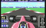 Formula 1 3D: F.1 Manager II Commodore 64 Your speed is already 215 km/h