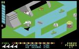 Super Zaxxon Commodore 64 Destroying a missile (cartridge version)