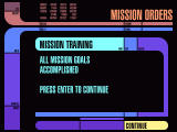 Star Trek: Hidden Evil Windows Training mission completed