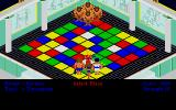 Powerplay: The Game of the Gods Atari ST Arrayed on the game board