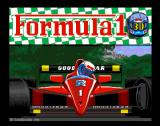 Formula 1 3D Amiga Title Screen
