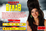 Escape from Rehab Browser Title screen
