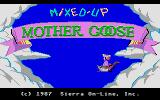Mixed-Up Mother Goose Atari ST Title screen