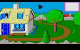 Mixed-Up Mother Goose Atari ST Arriving (by goose) in the land of nursery-rhymes