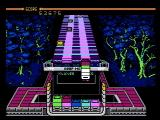 Klax NES You can hold up to five tiles on the paddle