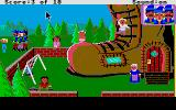 Mixed-Up Mother Goose Atari ST There was an old lady who lived in a shoe.  When offered fiddlers, she didn't know what to do.