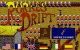 Rorke's Drift Atari ST Title screen