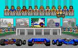 Power Drift Atari ST Choose a player