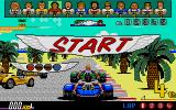 Power Drift Atari ST Starting a race