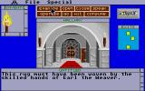 Shadowgate Atari ST Detailed descriptions of in-room objects