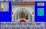 Shadowgate Atari ST A sinister magical message