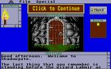 Shadowgate Atari ST Starting location