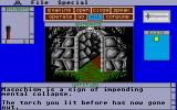 Shadowgate Atari ST Beware the light daemon!