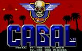 Cabal Atari ST Title screen