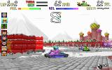 SuperKarts DOS Moscow naturally introduces snow and ice.