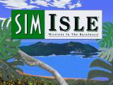 SimIsle: Missions in the Rainforest DOS Splash screen