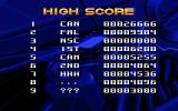 Iron Blood DOS High score table