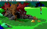 Roberta Williams' King's Quest I: Quest for the Crown DOS The gnome's place. (EGA)