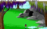 Roberta Williams' King's Quest I: Quest for the Crown DOS A cave! (EGA)