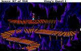 Roberta Williams' King's Quest I: Quest for the Crown DOS More twisting pathways. (EGA)