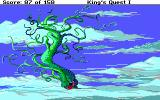 Roberta Williams' King's Quest I: Quest for the Crown DOS I reached the top of the beanstalk!