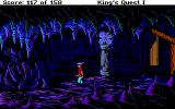 Roberta Williams' King's Quest I: Quest for the Crown DOS What's down here? (EGA)