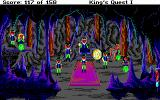 Roberta Williams' King's Quest I: Quest for the Crown DOS The kingdom of the wee people. (EGA)