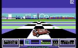 RoadBlasters Commodore 64 Finished a lap