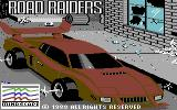 Road Raider Commodore 64 Title screen