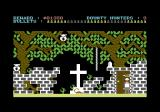 A Fi$tful of Buck$ Commodore 64 The cemetery