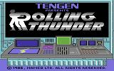 Rolling Thunder Commodore 64 Title screen