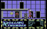 Rolling Thunder Commodore 64 Getting a better gun that shoots faster