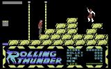 Rolling Thunder Commodore 64 Don't touch those laser beams