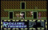 Rolling Thunder Commodore 64 Shot one, two more to go