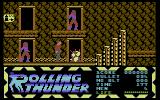 Rolling Thunder Commodore 64 This guy is throwing grenades