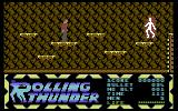 Rolling Thunder Commodore 64 Don't get pushed of the platforms by that thing