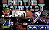 Run the Gauntlet Commodore 64 Loading screen