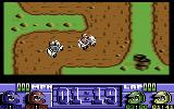 Run the Gauntlet Commodore 64 Quad race