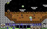 Ruff and Reddy in the Space Adventure Commodore 64 Game start